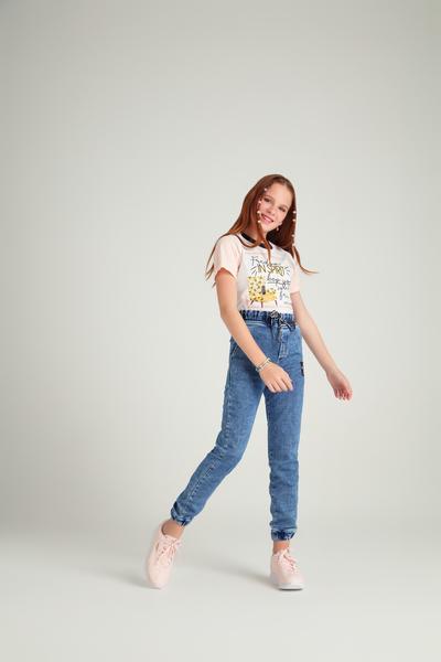 Calça Jeans Good Vibes Only