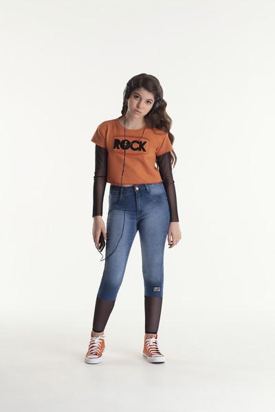 Calça Jeans Telinha