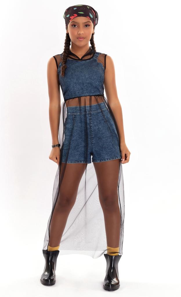 Look Jeans + Telinha - Bob
