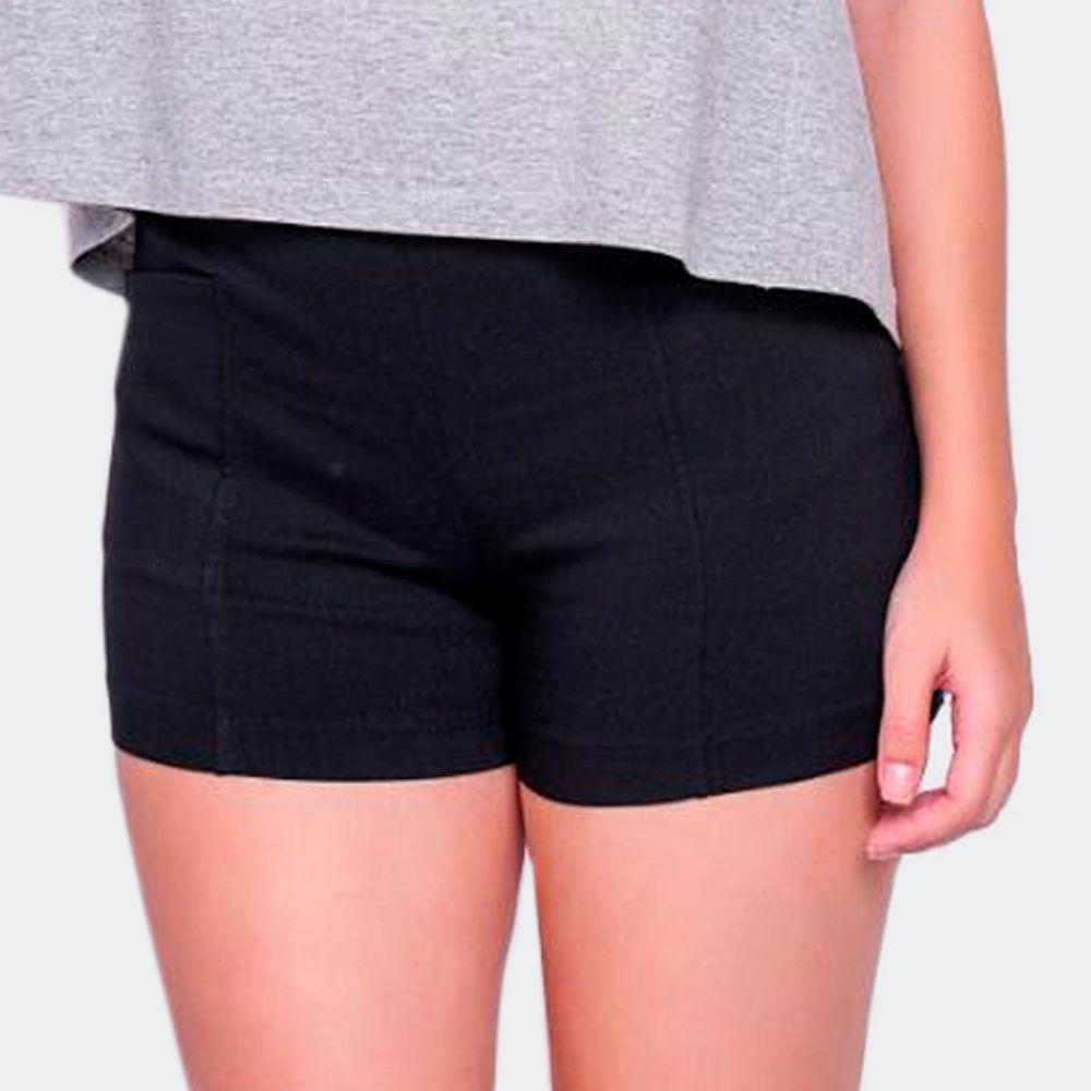 Shorts de Viscolycra Preto