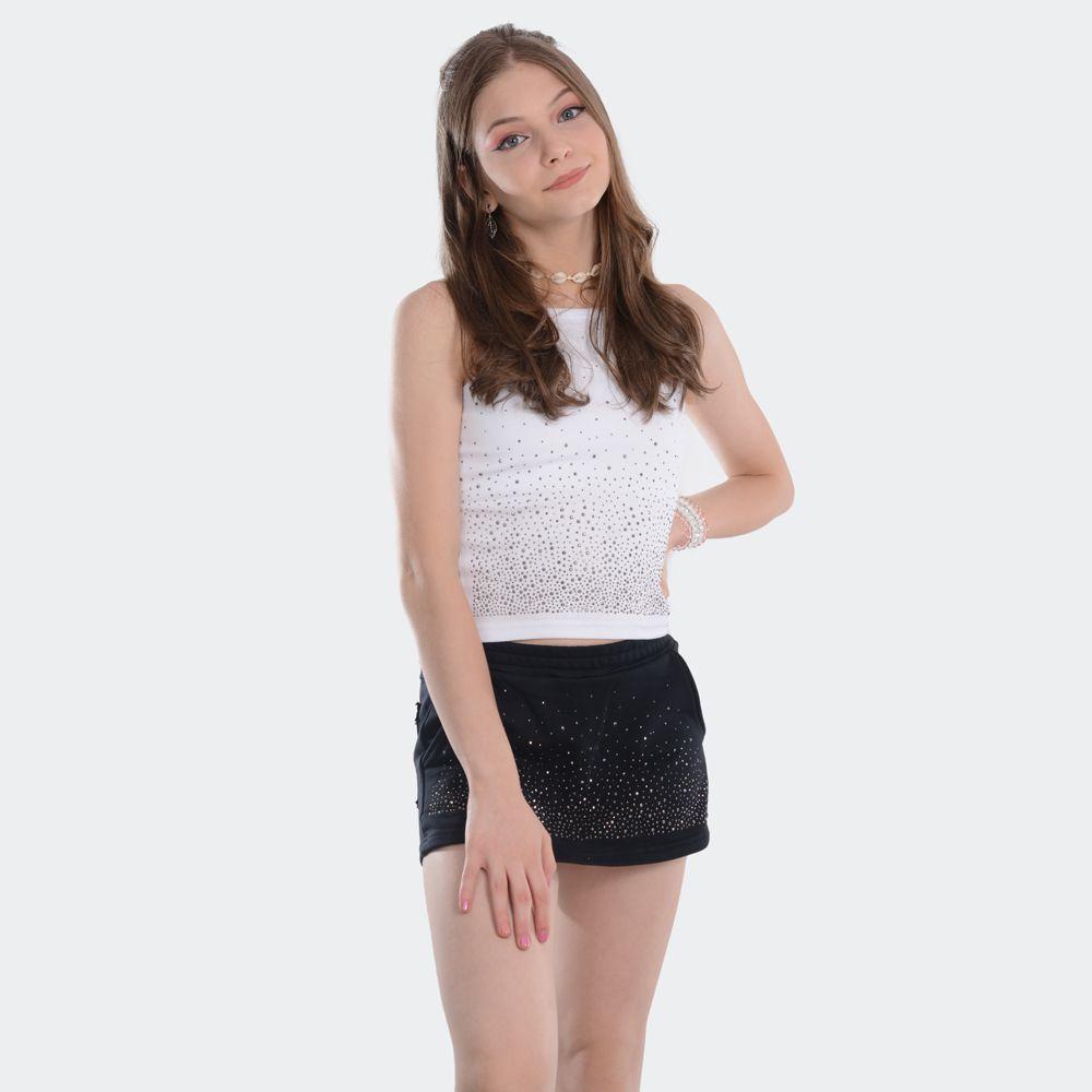Shorts Saia Cristal