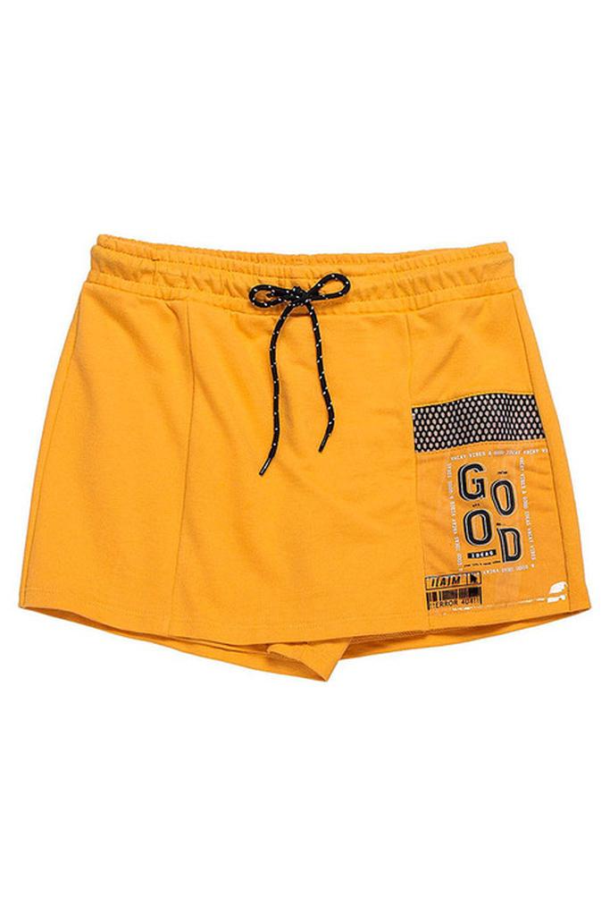 Shorts Saia Mostarda