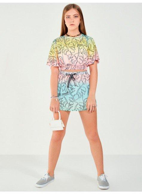 Shorts Saia Tropical