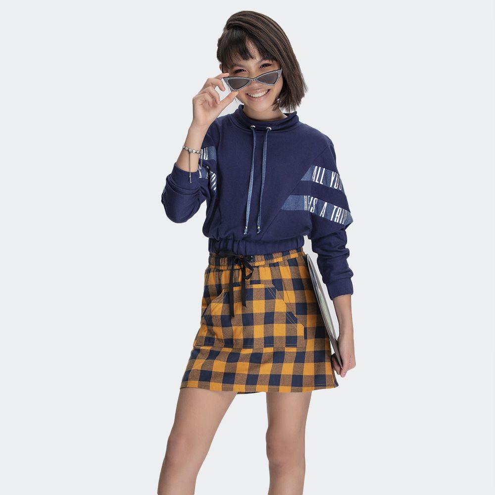 Shorts/Saia Xadrez