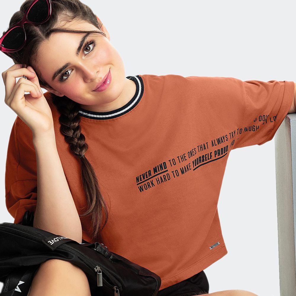 T-Shirt Teen malha Com 98 Costas