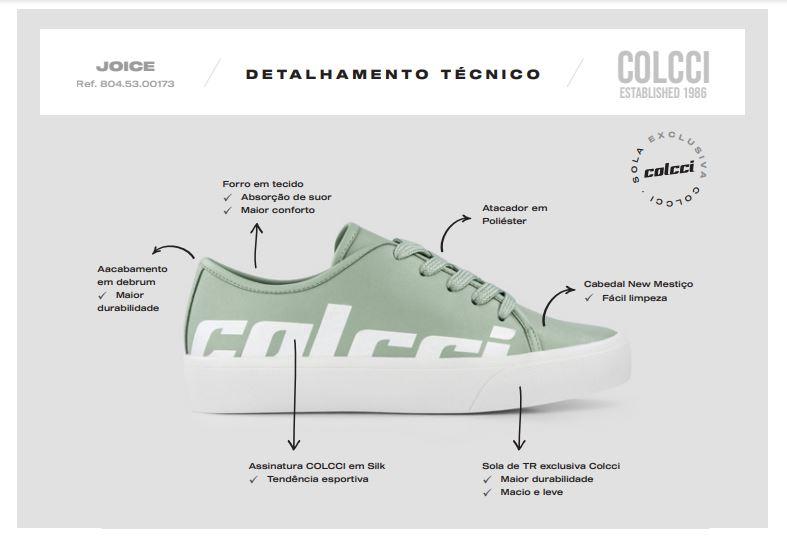 Tênis Courino  - Colcci