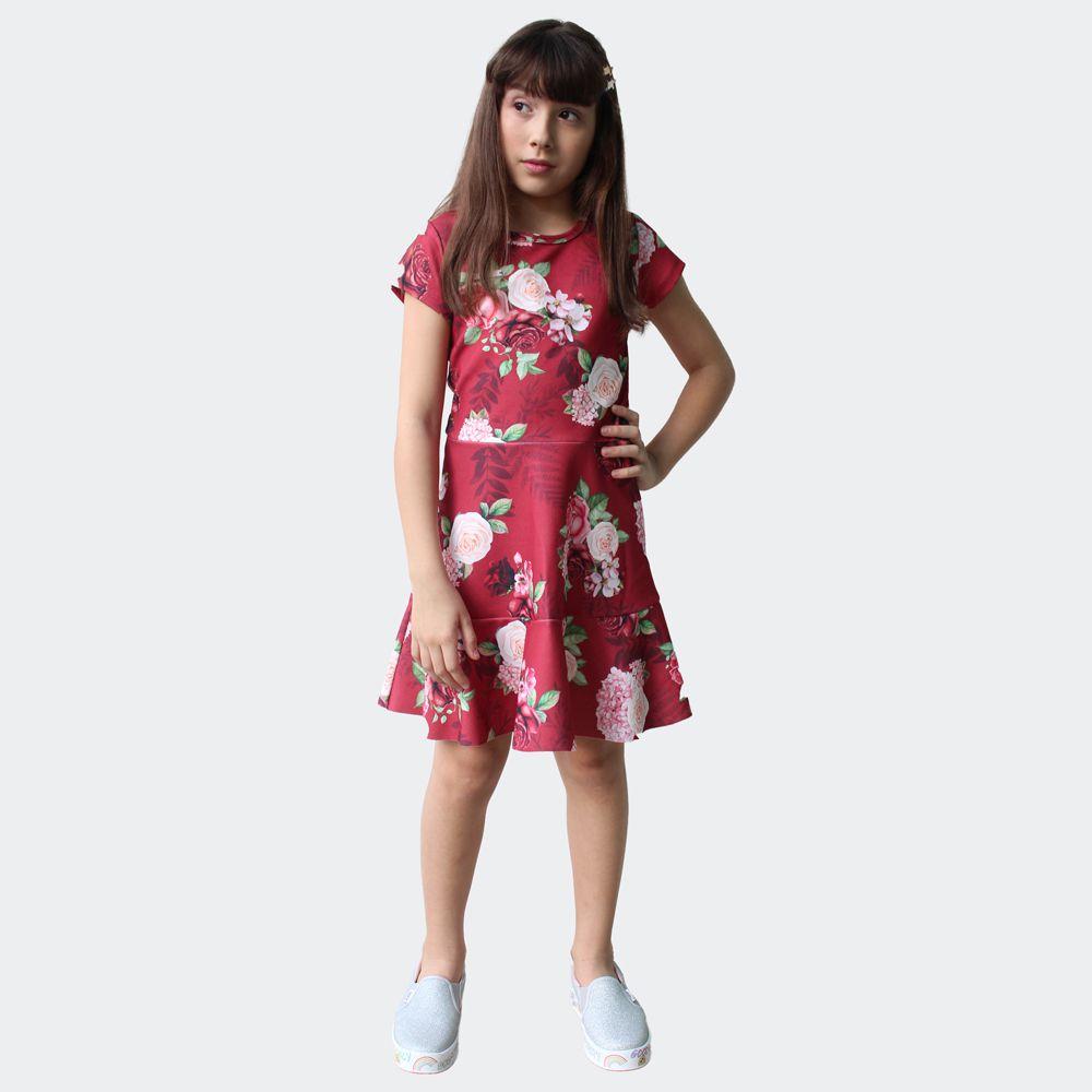 Vestido Flores  Pkt