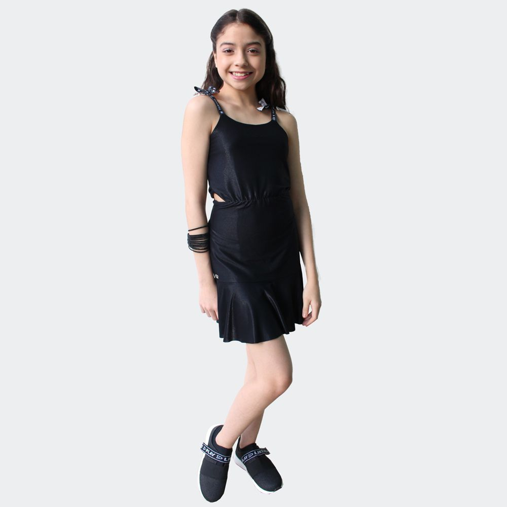 Vestido Malha com Brilho