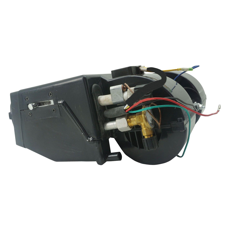 Caixa Evaporadora Universal 12V Preta + Frente 4 Saídas