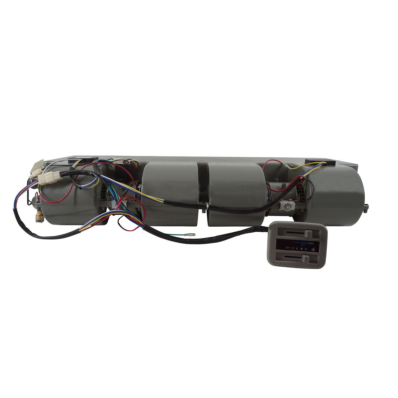 Caixa Evaporadora Universal Cinza Mini-Bus com 2 Motores 6 Difusores - 24V