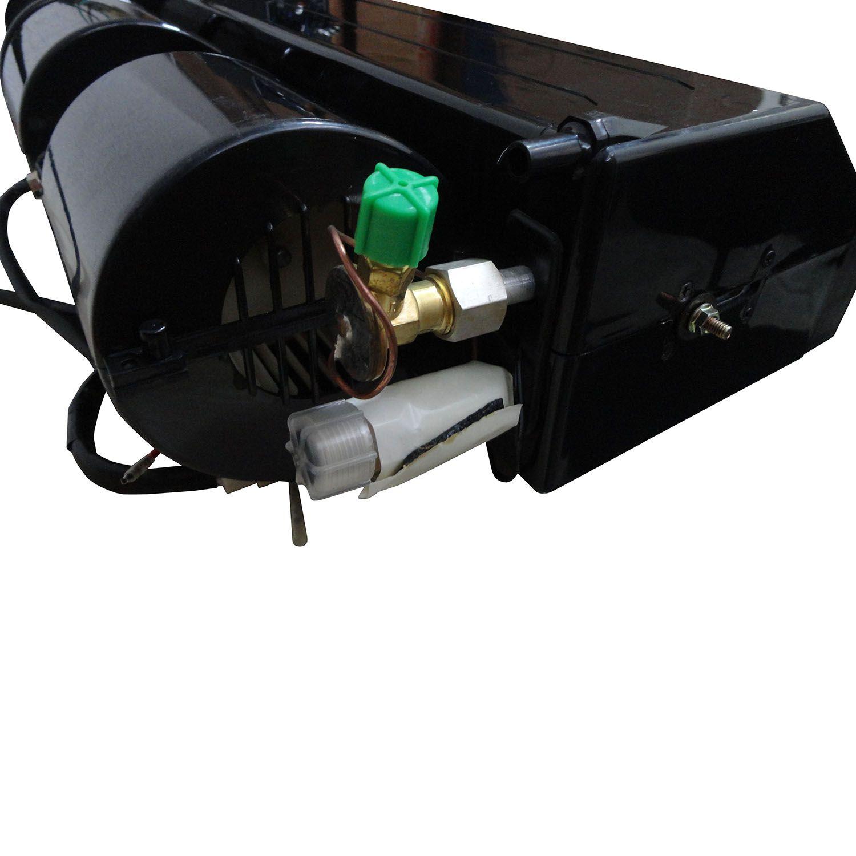Caixa Evaporadora Universal Mini-Bus com 2 Motores Expansão Capilar - 6 Difusores - 24V