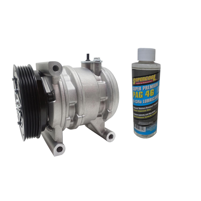 Compressor Modelo Calsonic de Pistão Uno Palio 1.0 1.4 Fire