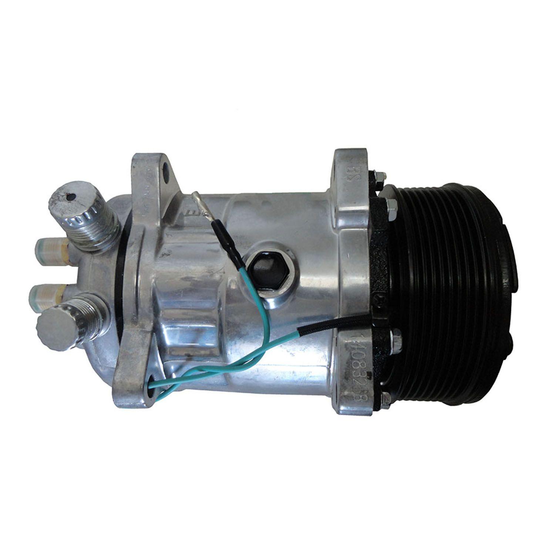 Compressor Universal Modelo 5H14 8 Orelhas Polia 8pk 120,8 mm - 24V - R134a