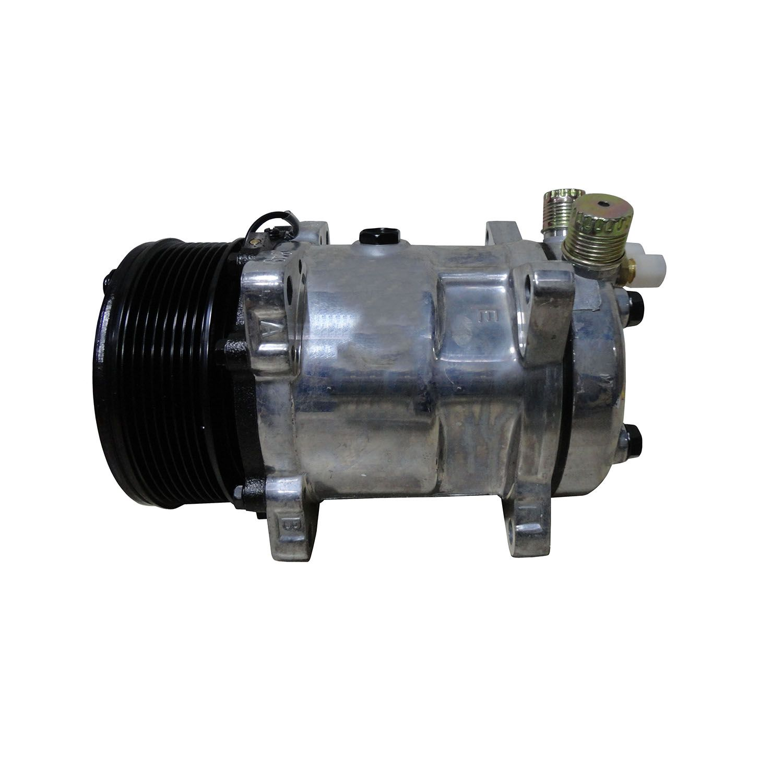 Compressor Universal Modelo 5H14 8 Orelhas Polia 8pk 130 mm - 12 Volts - R134a
