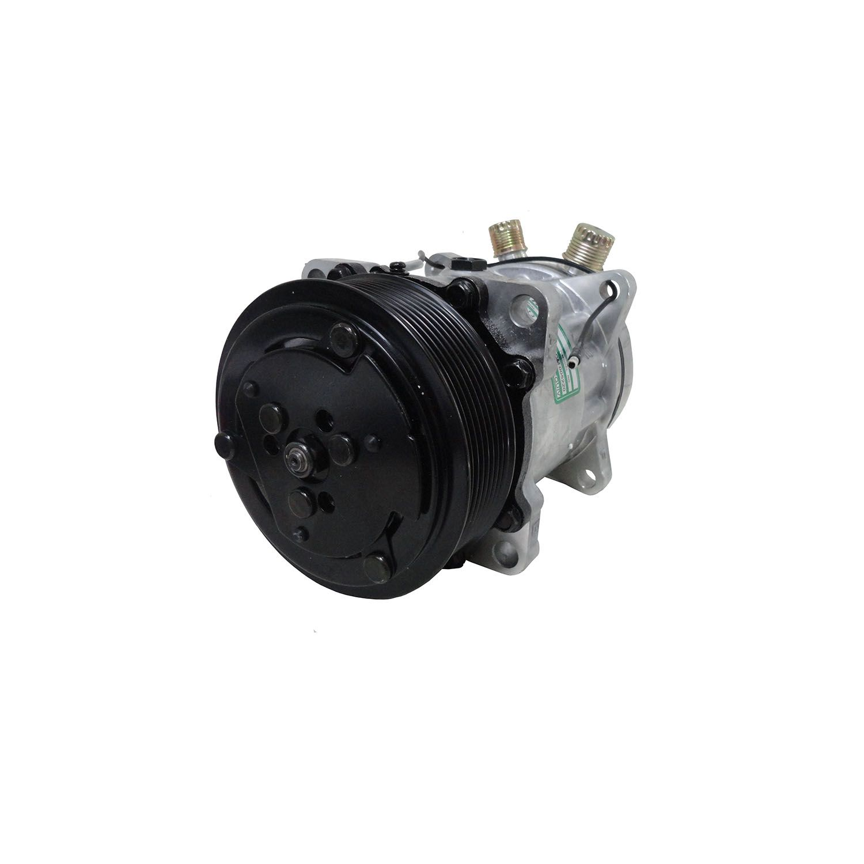 Compressor Universal Modelo 7H15 8 Orelhas Polia 8pk 12V - Maquina New Holland
