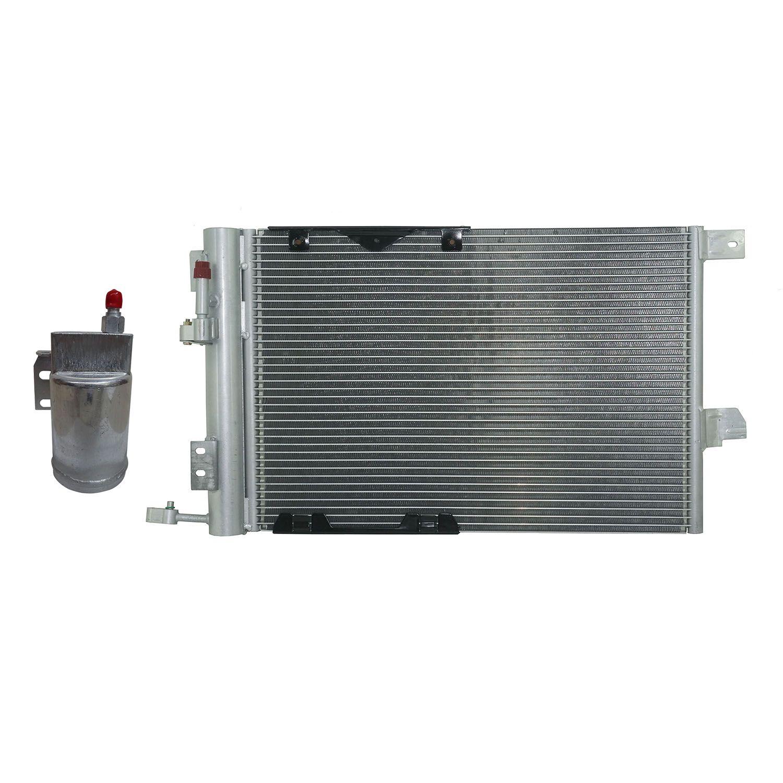 Condensador + Filtro Secador Gm Astra de 99 à 09, Vectra de 06 à 09 e Zafira Até 2008
