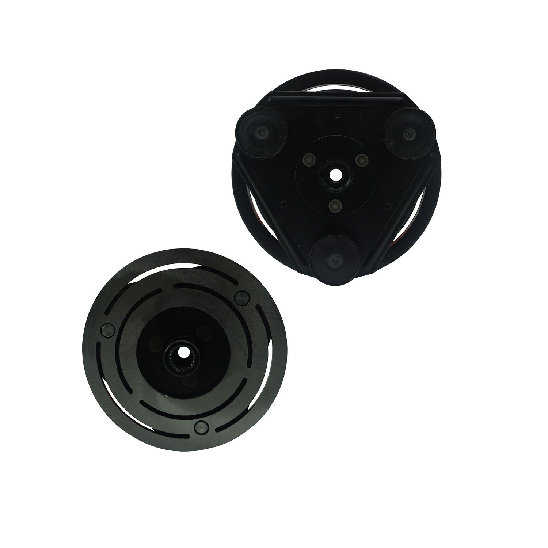 Conjunto de embreagem do compressor Fic FS10/ FX15/ Ranger/ F250 12V 6PK