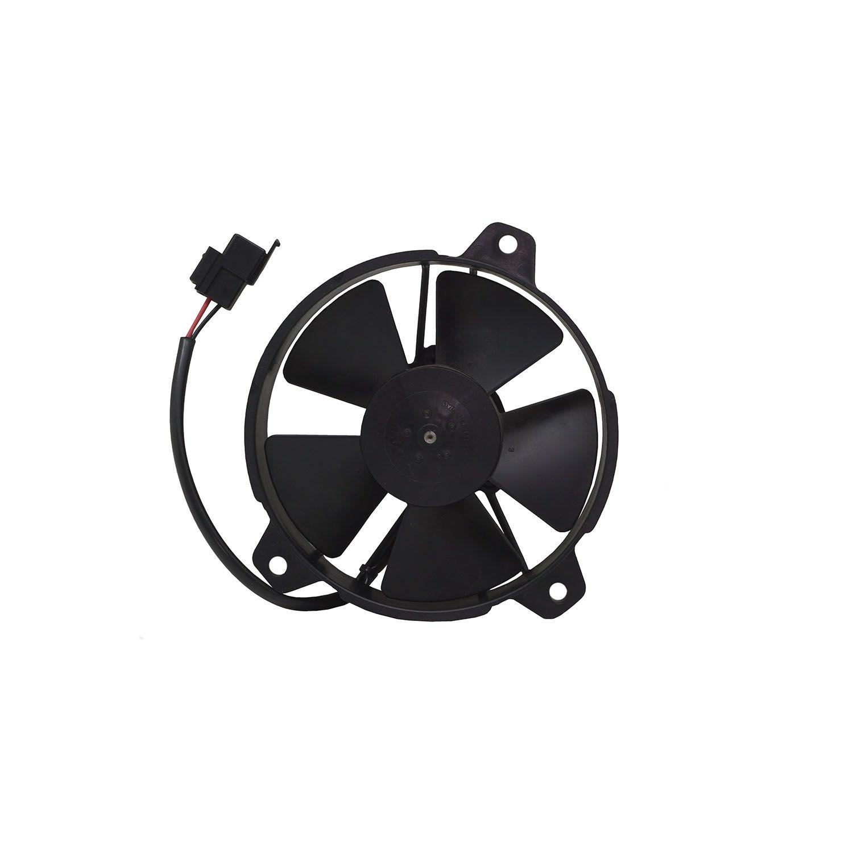 Eletroventilador Universal Pás em S 5,5 Polegadas Aspirante - SPAL - 12 V