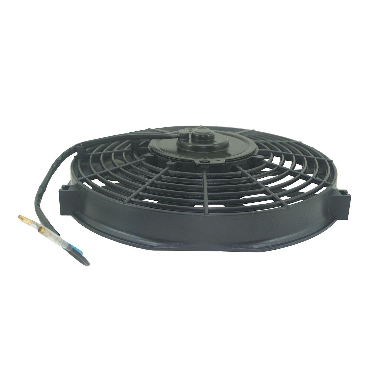 Eletroventilador Universal Pás Retas de 10 polegadas - 24 V