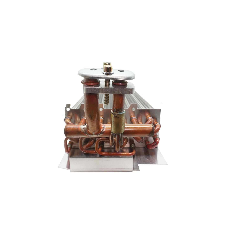 Evaporador Maquina Trator JD Serie 5000 6000 7000 7500 7505 C/A Tubo Aletas