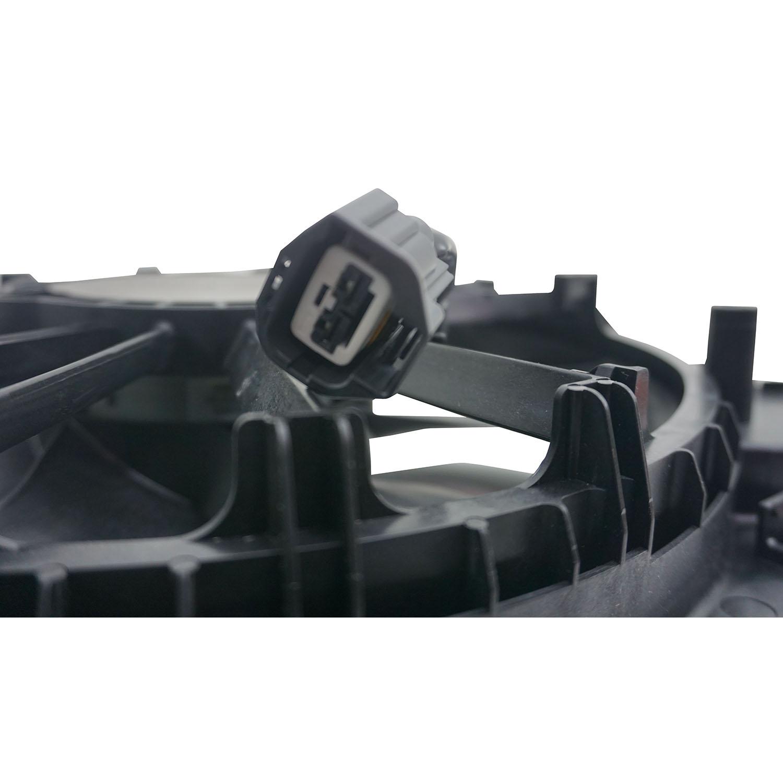 Ventoinha com Defletor do Radiador Cobalt Onix Prisma e Spin 2 pinos