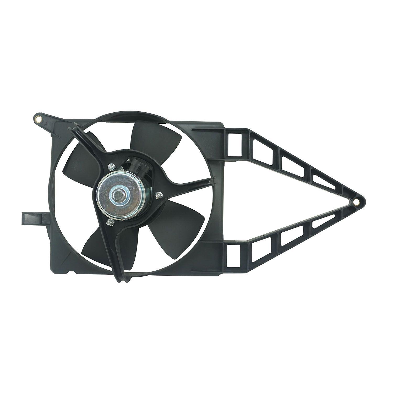 Ventoinha com Defletor do Radiador Corsa e Classic de 94 até 02 - Sem Ar