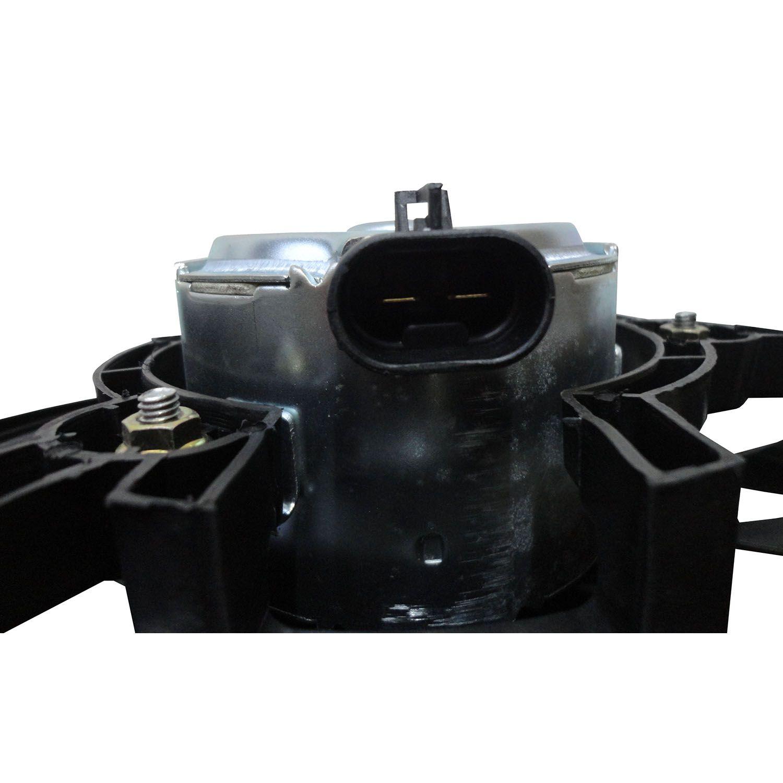 Ventoinha com Defletor do Radiador Fiesta e Ecosport de 02 até 12 - Com ar