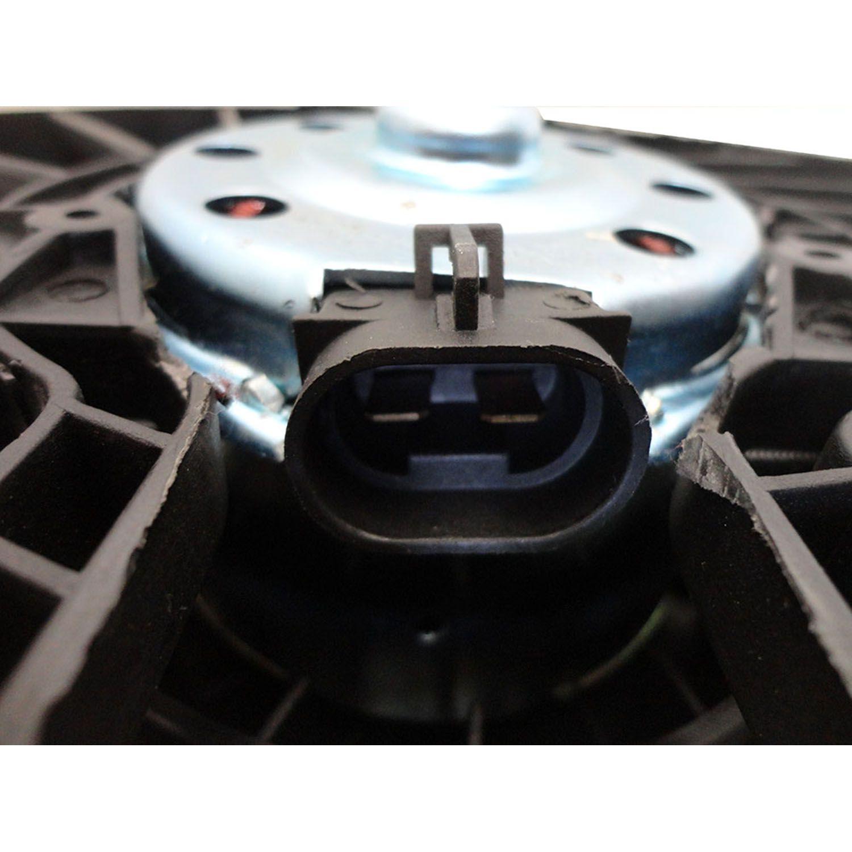 Ventoinha com Defletor do Radiador Gm Meriva de 2006 até 2012