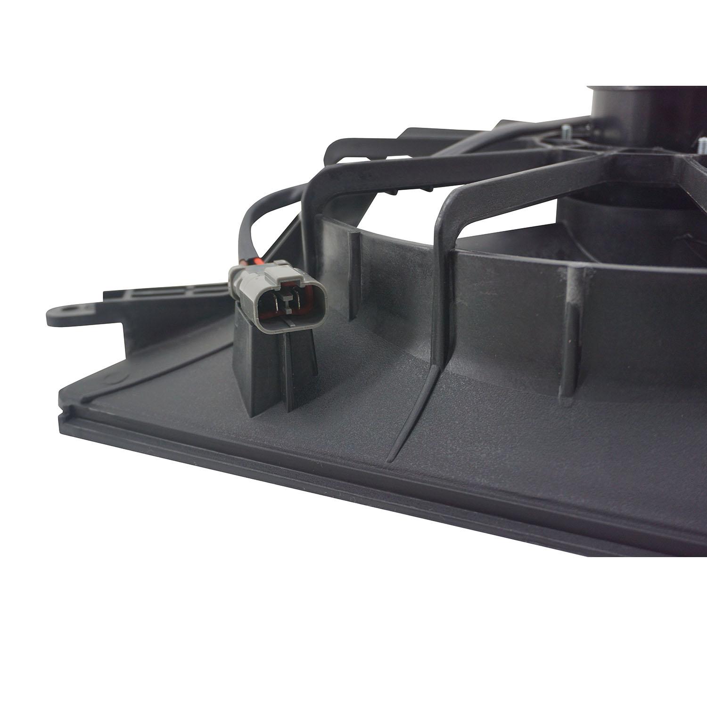Ventoinha com Defletor do Radiador Honda CRV 2.0 16V e 2.4 de 02 até 06 Com Ar