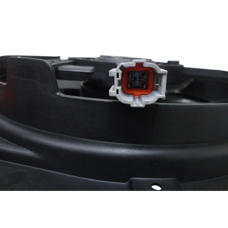 Ventoinha com Defletor do Radiador Nissan Sentra de 2007 até 2012