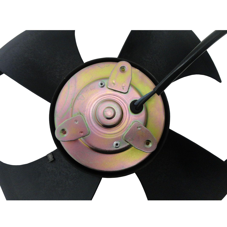 Ventoinha do Condensador do Ar Condicionado Honda Civic de 01 A 06 12V