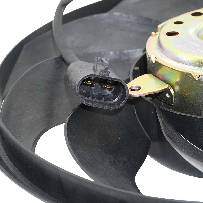 Ventoinha do Condensador GM Corsa e Montana de 2003 até 2009 - 8 pás
