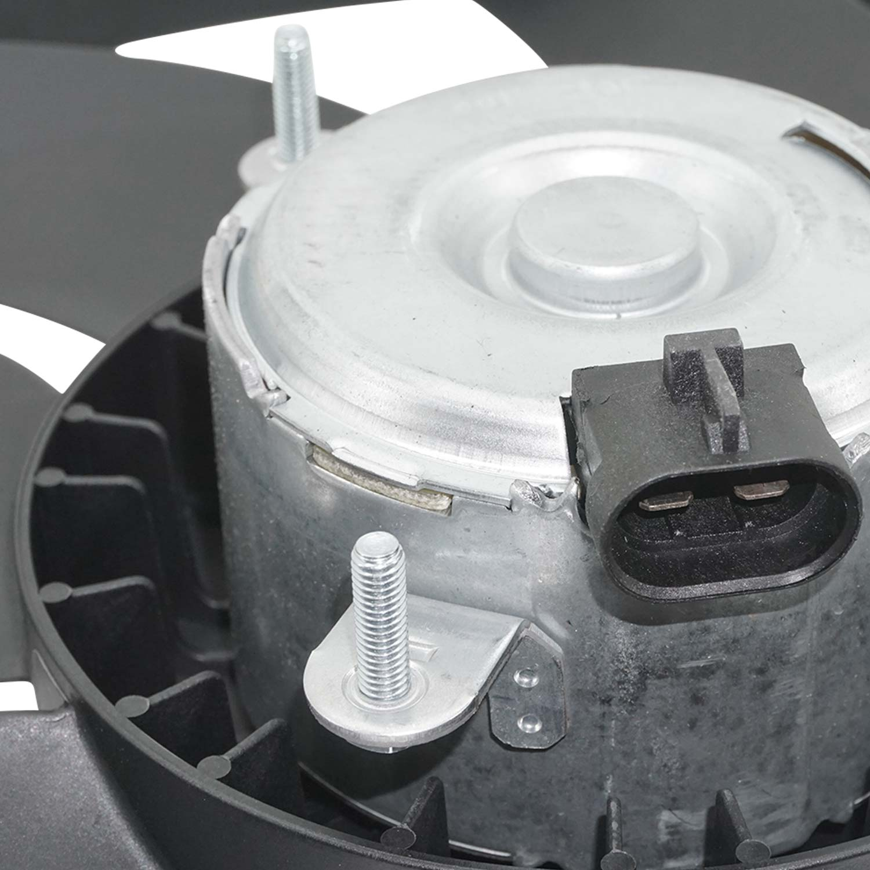Ventoinha do Radiador Fiat Uno Novo Way Vivace 1.0 1.4  Com Ar - 12V
