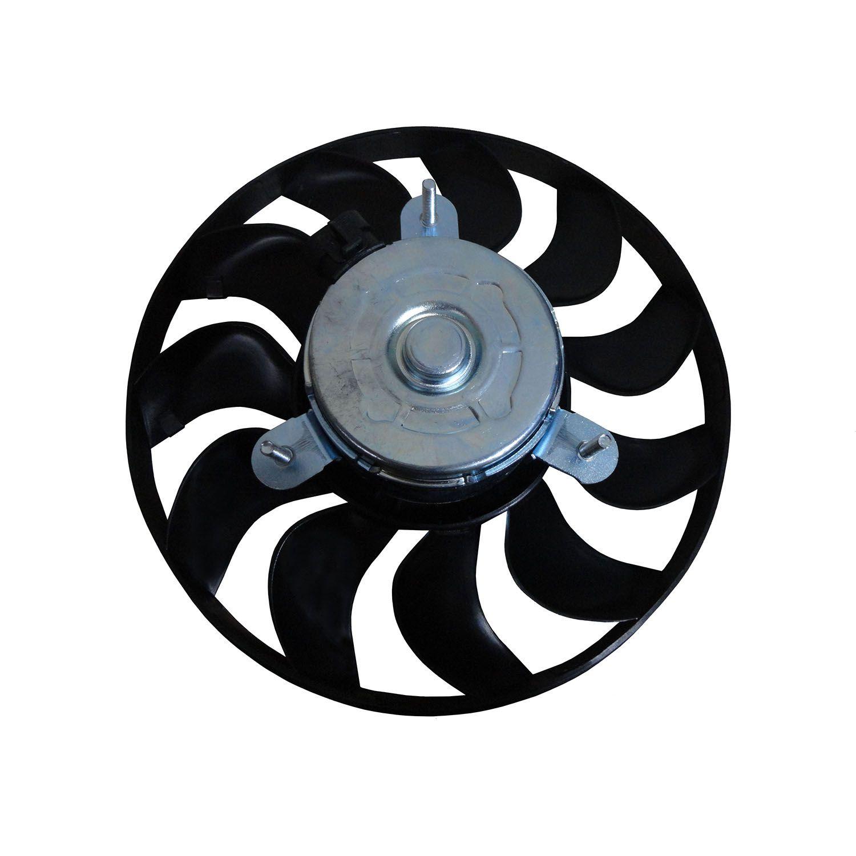 Ventoinha do Radiador GM Celta Life Spirit Super 1.0 e 1.4 - Com Ar 12V