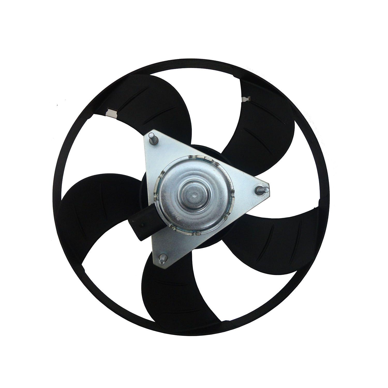 Ventoinha do Radiador GM Celta Prisma  - Sem Ar 12V