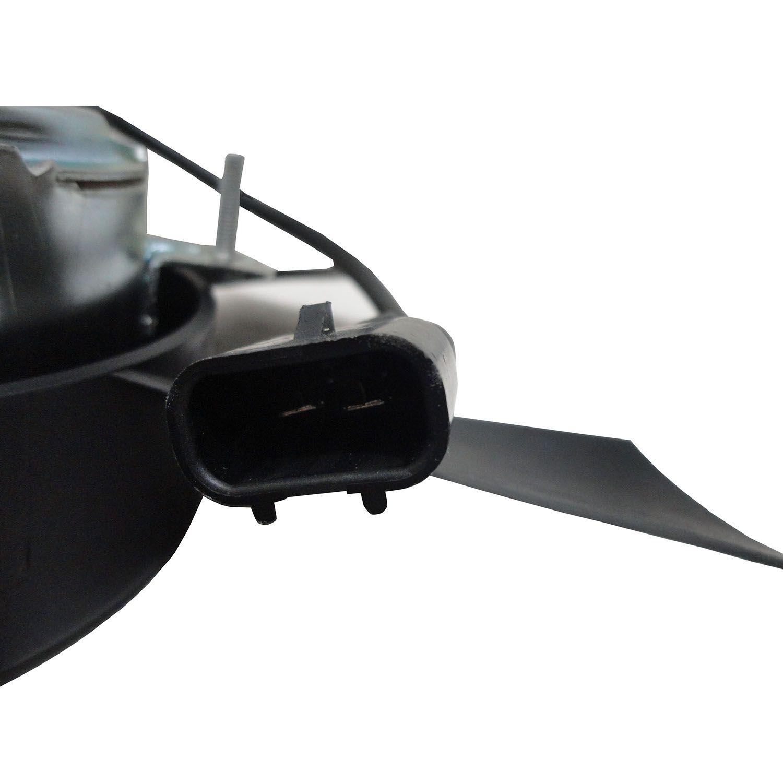 Ventoinha do Radiador GM Monza Kadett Ipanema Com Ar e S-10 Blazer Sem Ar