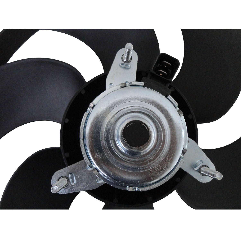 Ventoinha do Radiador Peugeot 306, 405 e Partner e Citroen Berlingo - Com Ar