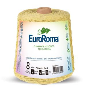 BARBANTE EUROROMA AMARELO BEBE