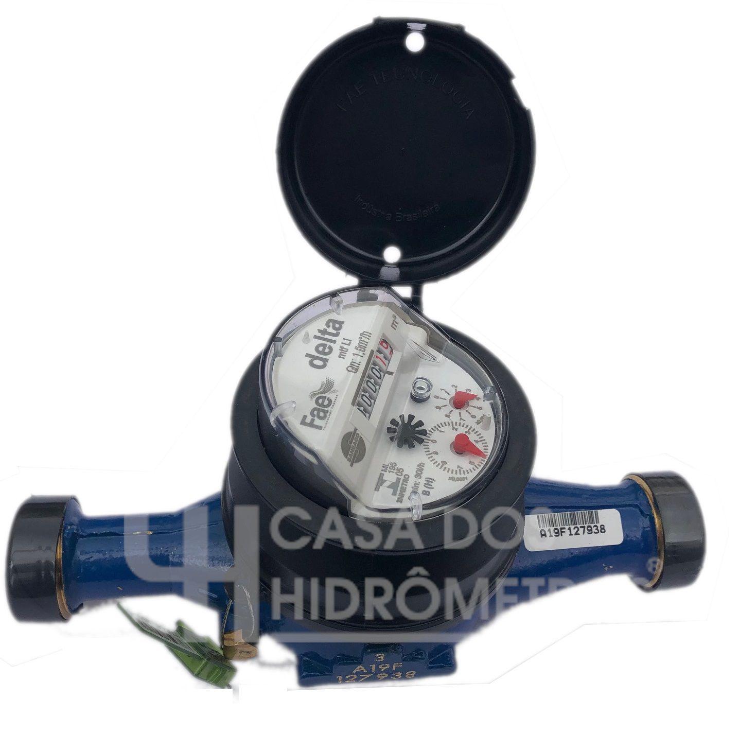 Hidrômetro Multijato 3.0 X 3/4 X 190