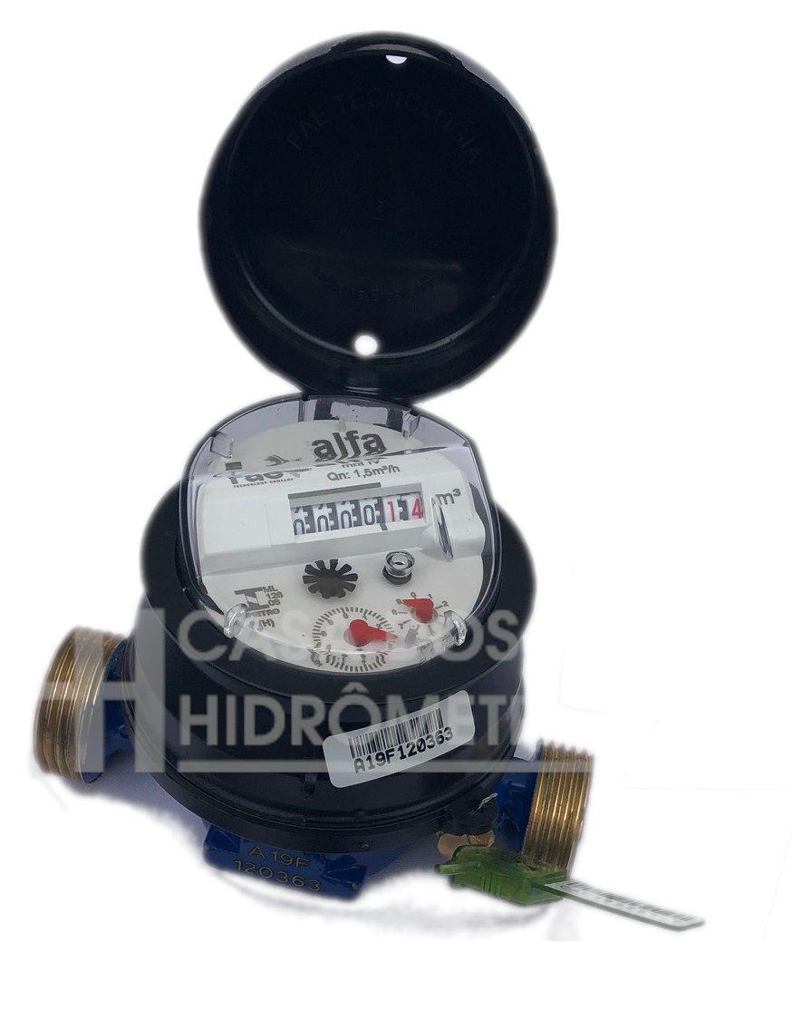 Hidrômetro Unijato 3.0 X 1/2 X 115