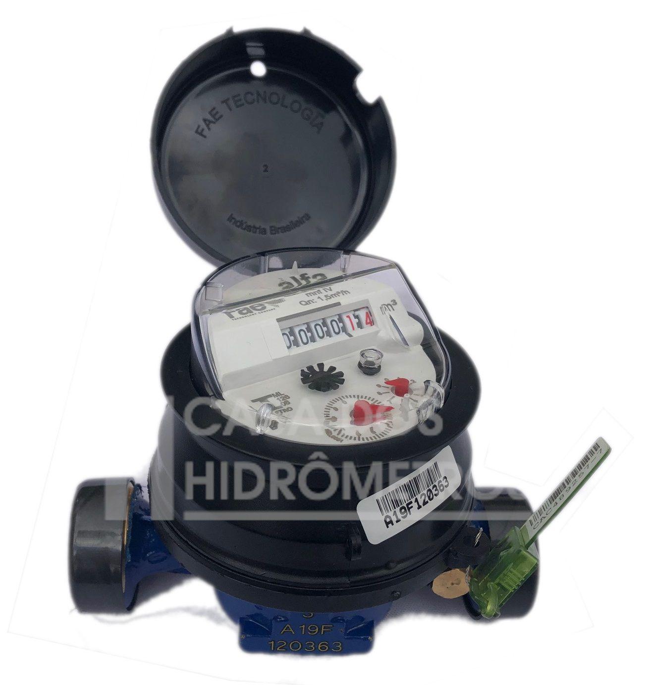 Hidrômetro Unijato 3.0 X 3/4 X 115