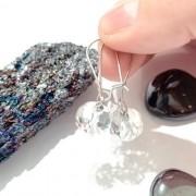 Brinco Cristal Transparente