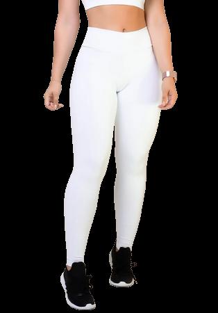Calça Leg Skinny Modeladora Comum BRANCA