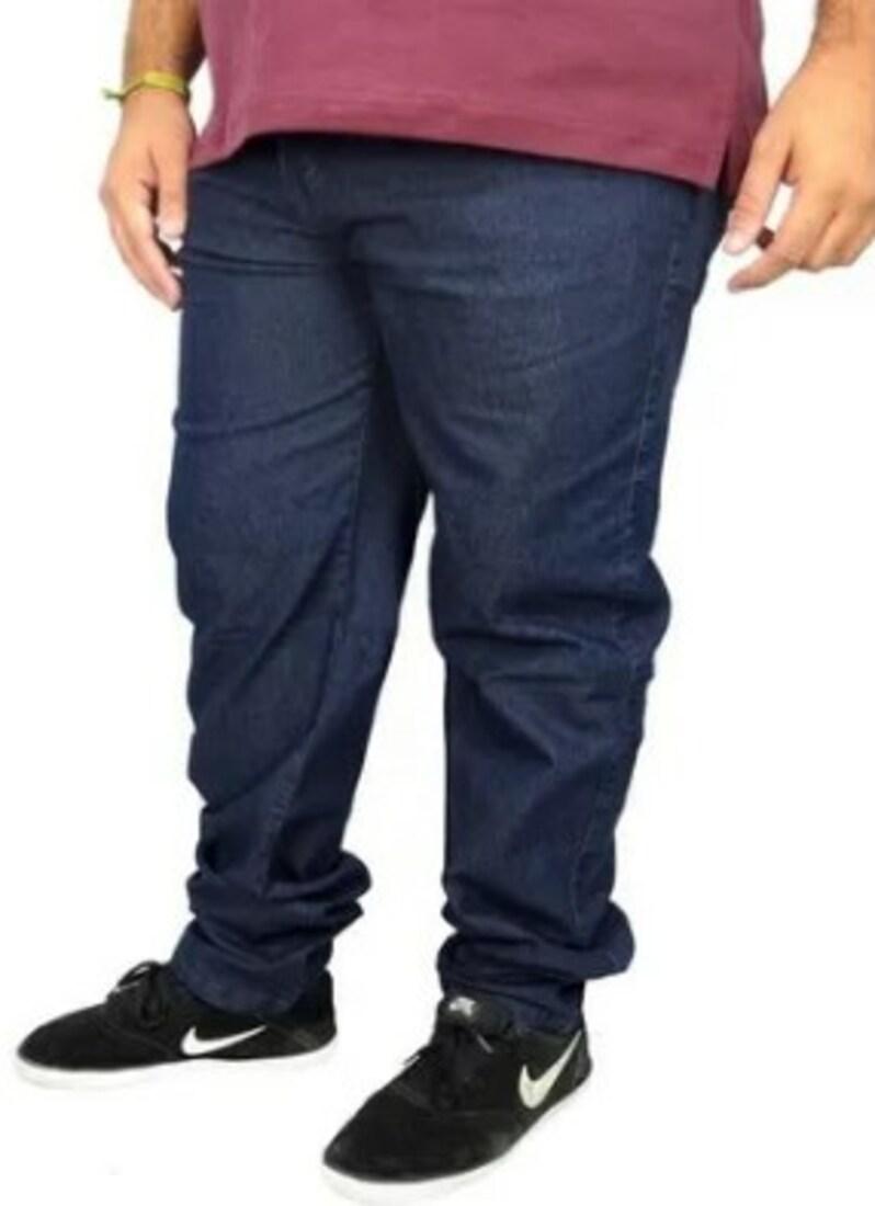 Calça Lycra Masculina Jeans Extra