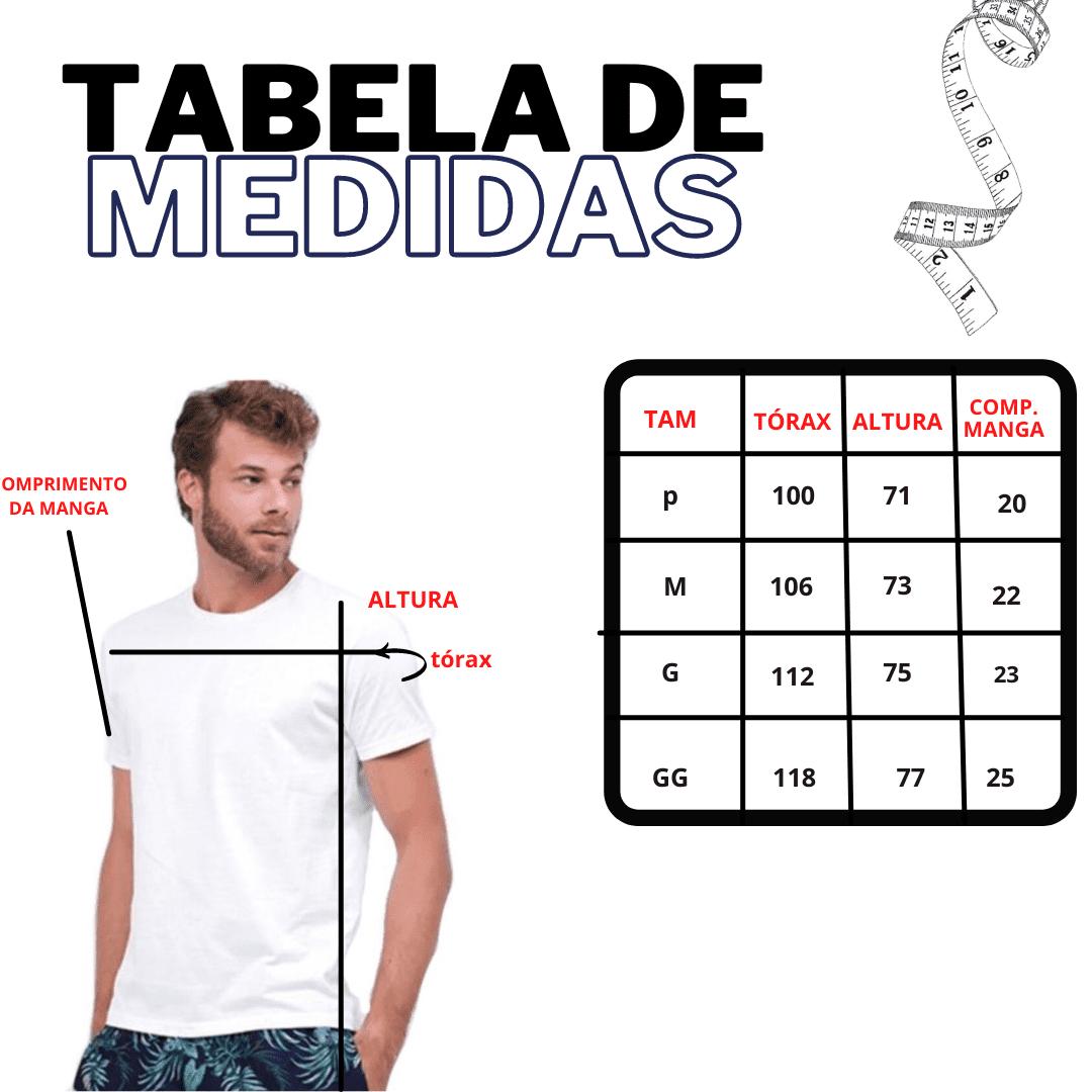 CAMISETA BASICA GOLA REDONDA - PRETO