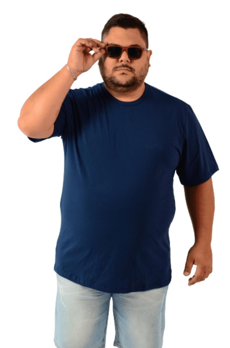 Camiseta Gola Redonda Extra Cores Algodão