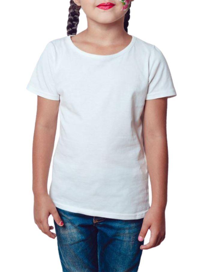 KIT 10 Camiseta Gola Redonda Infantil