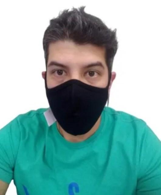 Kit 10 Máscara Ninja Preta