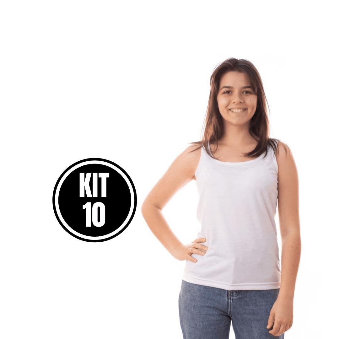 KIT 10 REGATA FEMININA - ABADA
