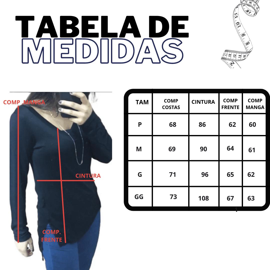 Kit 3 Blusas Feminina Presente para Mãe Viscolycra de Qualidade